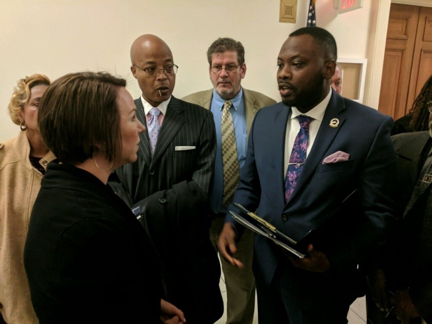 Letter carriers with Rep. Martha Roby (R-AL)