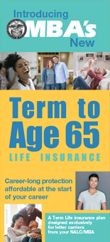 MBA Term to Age 65 Life Insurance