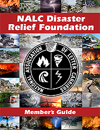 NALC Disaster Relief Foundation Member's Guide is now available